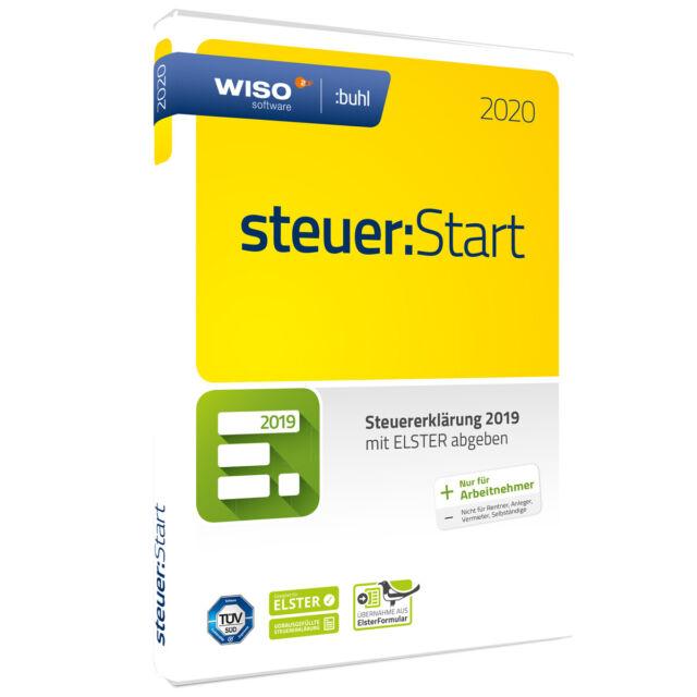 WISO steuer:Start 2020 (Voll Version, 1 Lizenz) günstig ...