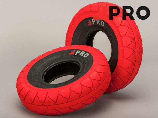 Mini Rocker Bmx Street Pro Tyres Black White Wall 4.1//3.50-4 and Innertubes Pair