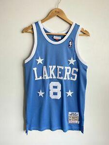 Details about Los Angeles Lakers #8 Kobe Bryant 2004-05 Blue Hardwood Classic Jersey Men's L