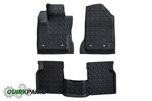 2017 2018 Jeep Compass All Season Slush Weather Floor Mats