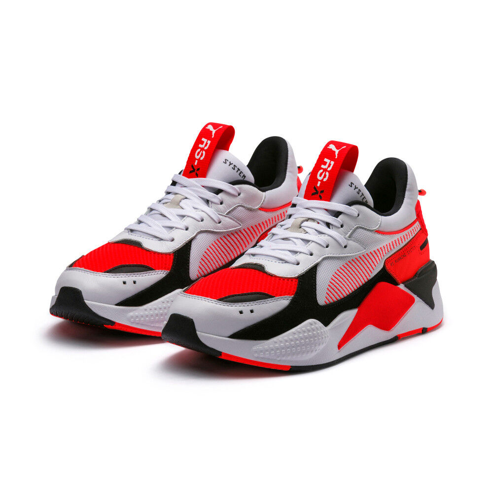 New PUMA RS-X Reinvention Sneakers shoes- White Red(369579-02 36957902)