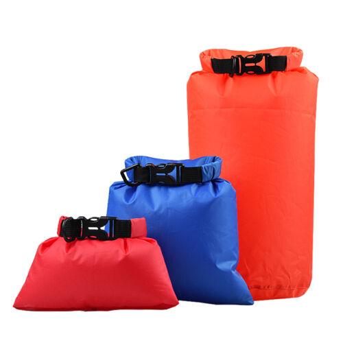 3 Größen Farben Set wasserdichter Packsack Packsack