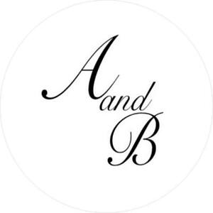 Details About 105 Personalised Wedding Initial Stickers For Envelope Seals Etc 35mm