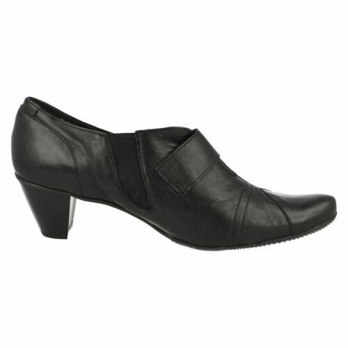 SANDPIPER LYN LADIES SMART CASUAL LEATHER TROUSER SHOES