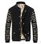 Slim Fashion Outwear 2018 Baseball Jacket Fit Casual Men's Stand Coat Collar Top nqnTO0Z