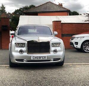 Image Is Loading Wedding Car Rolls Royce Phantom Bentley Flying Spur