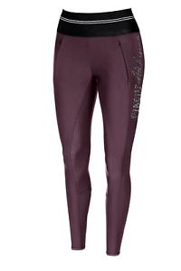 Pikeur Gia Mujer Pantalones De Montar De Agarre Athleisure-Burdeos