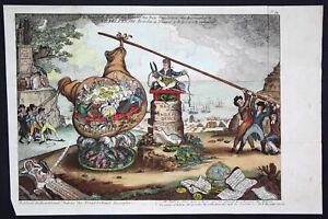 1807-Gillray-politics-gorvernment-Karikatur-caricature-Kupferstich-engraving