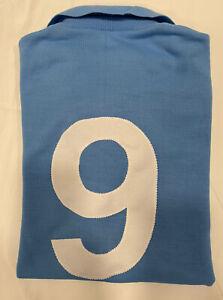 1 maglia NAPOLI BUITONI N 9 GIORDANO 1987/88 tessuto acrilico vintage Azzurra