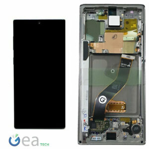 SAMSUNG-Display-LCD-Originale-Touch-Screen-Per-Galaxy-NOTE-10-N970F-Silver