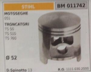 11110302000 Pistone Completo Troncatrice Troncatore Stihl Ts 50 510 760 Ø52 43to5pe2-10111557-113518229
