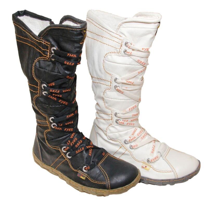 TMB Damen Winter Stiefel Boots Gefüttert Winterstiefel Gr. 36-42 Shoes 2018 2088