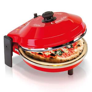 Spice-Caliente-Forno-Pizza-400-gradi-resistenza-circolare-calotta-acciaio-Inox