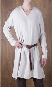 Details about  /Medieval Celtic Viking Tunic Short Sleeves 5 Colors renaissance Surcoat SCA Larp