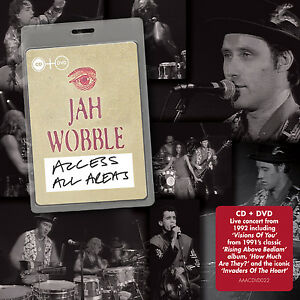 Jah-Wobble-Access-All-Areas-CD-Album-with-DVD-2-discs-2015-NEW