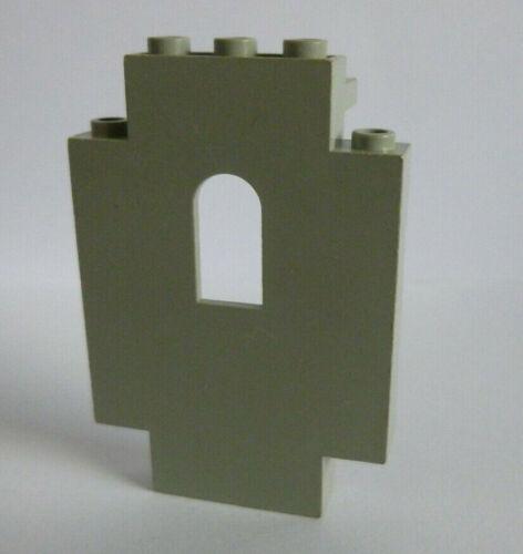 1 x LEGO ® 4444 burgwand Panell Mur chevaliers en althellgrau d/'occasion.