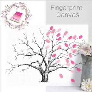 Diy Fingerabdruck Fingerabdruck Malerei Stammbaum Hochzeit