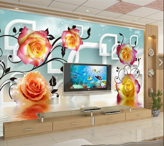 3D Gradient Blaumen 99 Fototapeten Wandbild Fototapete BildTapete Familie