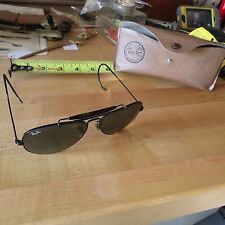 Ray Ban Bouch & Lomb Aviator Sun Glasses (frame issues) (lot#9141)