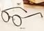Vintage-Literary-TR90-Metal-Retro-eyeglass-frame-Round-Clear-Glasses-Women-Men thumbnail 7