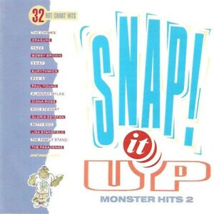 Various - Snap! It Up Monster Hits 2 (2xCD 1990) Yazz; Snap; B52's; En Vogue