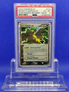 Rocket-039-s-Zapdos-EX-PSA-6-EX-MT-2004-EX-Team-Rocket-Returns-106-Pokemon