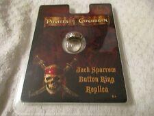 Master Replicas Pirates of the Caribbean Jack Sparrow Button Ring Replica