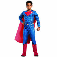 Rubies Childs Deluxe Superman Halloween Costume With Muscles Marvel Childrens