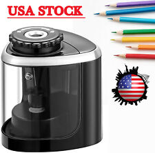 Electric Pencil Sharpener Blade To Fast Sharpen Battery Powered Easy To Use