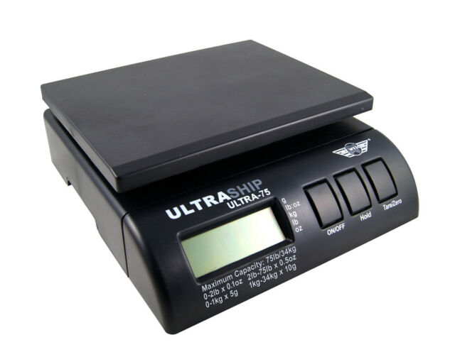 ULTRASHIP 34kg with adapter DIGITAL PARCEL POSTAL WEIGHTING SCALES SHIPPING post