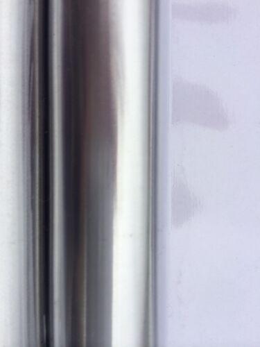 Chrome Non Rust U L Shape Adjustable Corner Shower Curtain Cubicle Pole Rail
