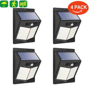 DEL-energie-solaire-lumiere-PIR-Detecteur-de-mouvement-etanche-exterieur-jardin-Yard-Wall-Lampe