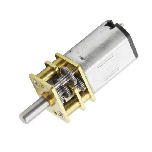 Professioneller DC Motor Gleichstrommotor Getriebemotor für DIY Auto Roboter