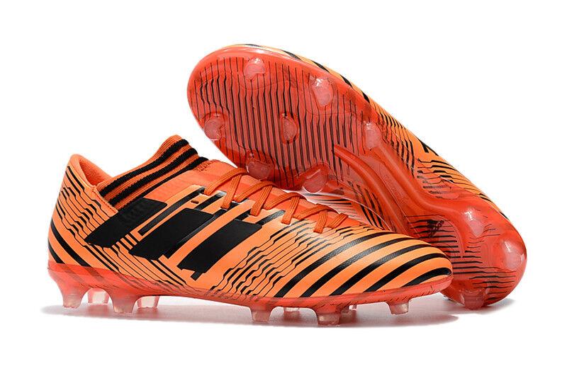 Adidas Nemeziz 17.1 FG Agility Soccer Cleats orange Pyro Storm BB6079