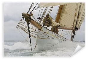 Postereck-Poster-0430-Segelschiff-Boot-Meer-Wasser-Schiff-Segeln-Seefahrt