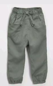 Girls NEXT Soft Khaki Trousers Size 3-6,9-12,18-24 Months,2-3 Years