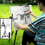 Metal-Telescoping-Tripod-Artist-Easel-Display-Stand-Tabletop-Floor-Painting thumbnail 1