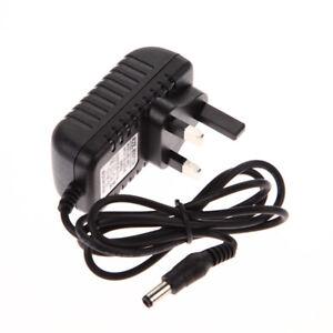 AC 100-240V to DC 6V 1A 1000mA 5.5mm x 2.5mm UK Plug Converter Adapter Cha
