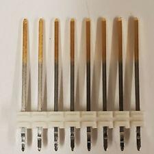 10pcs Extra Long Pin Headers 8 Pins 01 Spacing 0615mm Tall