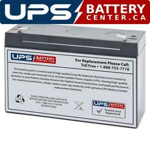 Exide-QD-3-6V-10Ah-F1-Replacement-Battery