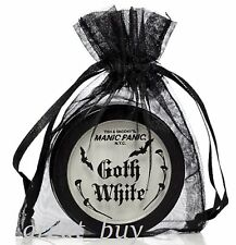 MANIC PANIC Goth White™ Cream/Powder Foundation Makeup.