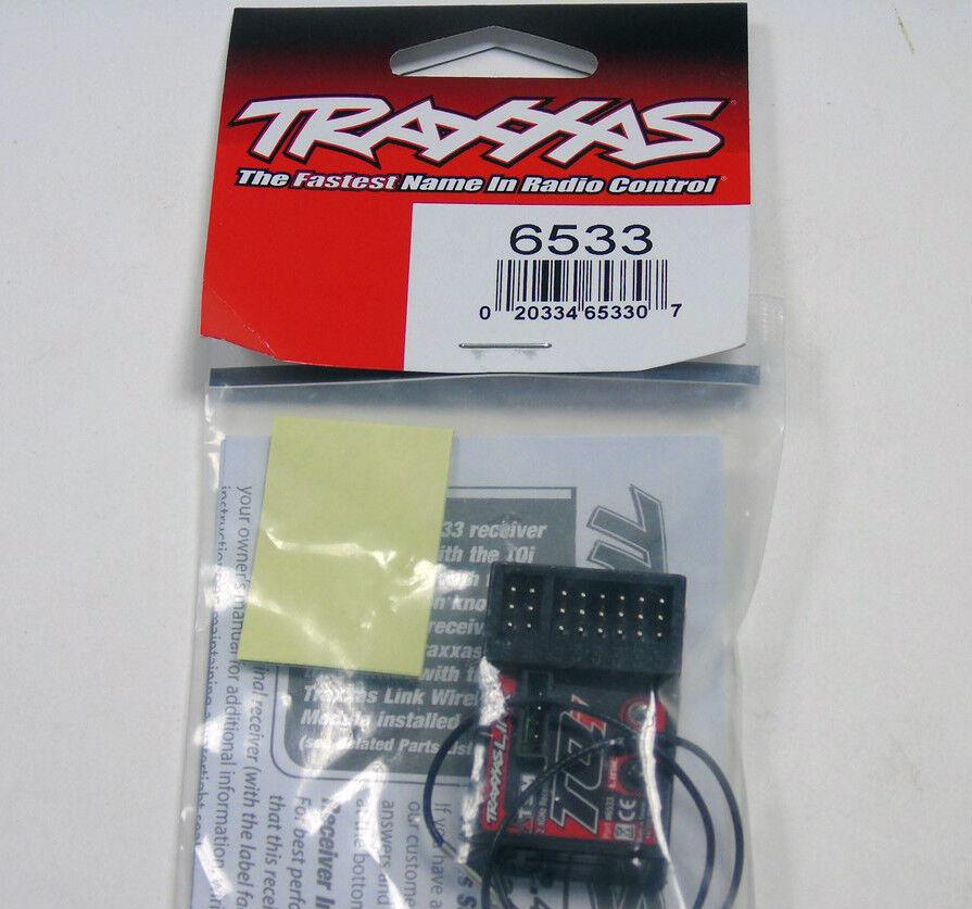 6533 Traxxas R/C Parti Auto Ricevitore 2.4GHz TQi 5Ch Micro Telem/TSM Nuovo di Zecca UK