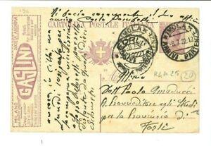 Cartolina-Postale-Regno-gt-pubblicita-Gaslini-gt-Imola-gt-08-07-1922