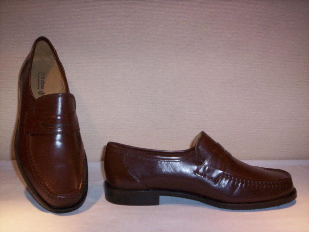 Pitti Shoes scarpe marroni classiche mocassini eleganti uomo pelle cuoio marroni scarpe 39 44 95d074