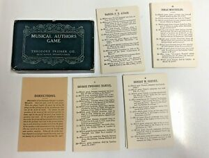 Vintage-Educational-Card-Game-Musical-Authors-Theodore-Presser-Company