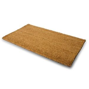 double door outdoor floor welcome mat heavy duty large coir doormat front porch 691054862180 ebay. Black Bedroom Furniture Sets. Home Design Ideas