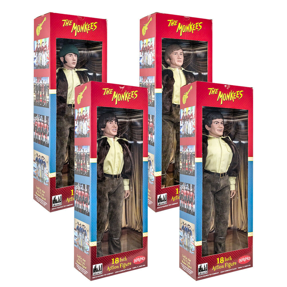 The Monkees 18 Inch Action Figures Series  Set of all 4