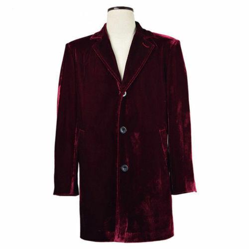 Doctor Who Twelfth 12th Dr Coat Velvet coat Jacket uniform Cosplay Costume