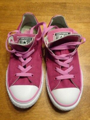 CONVERSE ALL STAR MAGENTA PINK TENNIS SHOES US SIZE 4 | eBay