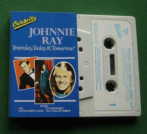 Johnnie Ray Yesterday Today & Tomorrow + Cassette Tape - TESTED